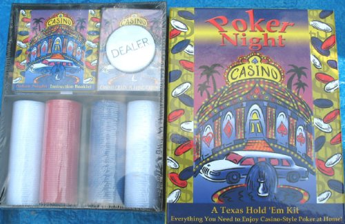 Poker Night - A Texas Hold 'Em Kit - Buy Poker Night - A Texas Hold 'Em Kit - Purchase Poker Night - A Texas Hold 'Em Kit (Markings, Toys & Games,Categories,Games,Card Games,Card Games)