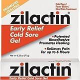 Zilactin Cold Sore Gel