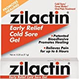 Zilactin Cold Sore Gel-0.25,oz.