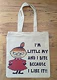Retro Moomins Moomin Little My Tote Shopping Bag