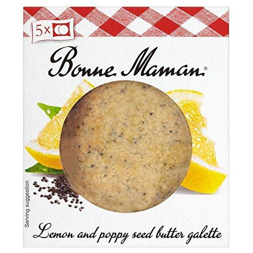Bonne Maman Galettes - Lemon & Poppy Seed Butter (140G)