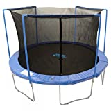 Net for 14ft Trampolines Enclosure using 3 Arches and Sleeves