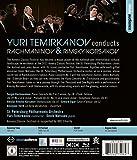 Image de Yuri Temirkanov conducts Rachmaninov & Rimsky-Korsakov [Blu-ray]