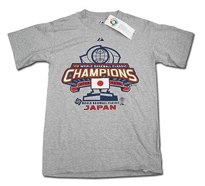 WBC ワールドベースボールクラシック 2009 優勝チーム 『侍ジャパン』日本代表 ロッカールームTシャツ【海外直輸入品】 XLサイズ