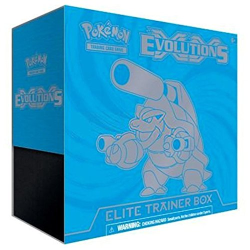 Pokemon TCG Card Game XY Evolutions Boosters Elite Trainer Box Set