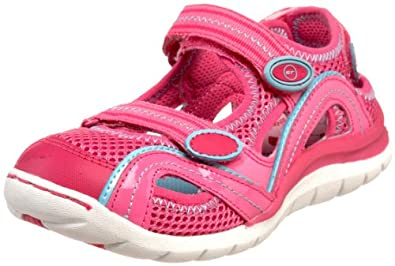 Stride Rite Renee Sandal (Toddler/Little Kid),Azalea/Hot Pink,11 M US Little Kid