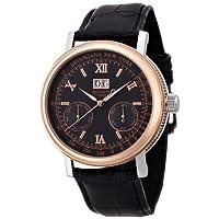 [ブルッキアーナ]BROOKIANA 腕時計 自動巻き ビッグデイト・ダト配列マルチカレンダー BA1665-BKPG メンズ