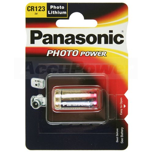 Panasonic CR123A Photo Power Lithium batterie 100 pcs., 1450mAh