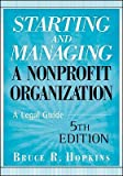 img - for Starting and Managing a Nonprofit Organization: A Legal Guide   [STARTING & MANAGING A NONPR-5E] [Paperback] book / textbook / text book