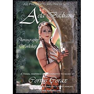 Belly dance/Tribal Choreography Workshop DVD