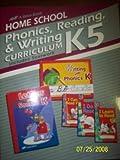 Home School Phonics, Reading, & Writing Curriculum K5 A Beka 1995