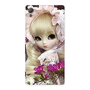 Impressive Looks Of Angel Doll Multicolor Back Case Cover for Xperia Z4