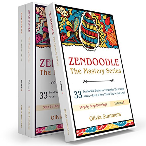 Zendoodle Box Set: 99 Zendoodle Patterns to Inspire Your Inner Artist--Even if You Think You're Not One! (Zendoodle Mastery Series, 3 Books In 1) (3 Set Of Draws compare prices)