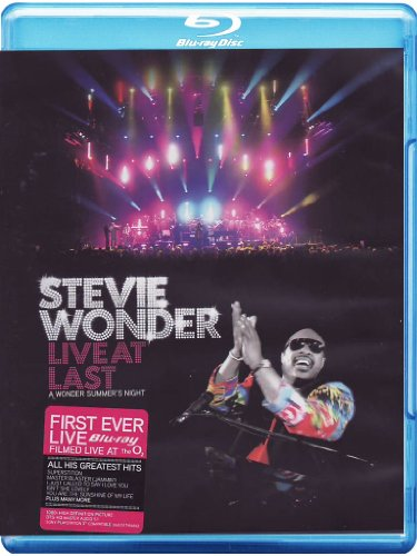 Stevie Wonder: Live at Last [Blu-ray] [Import]