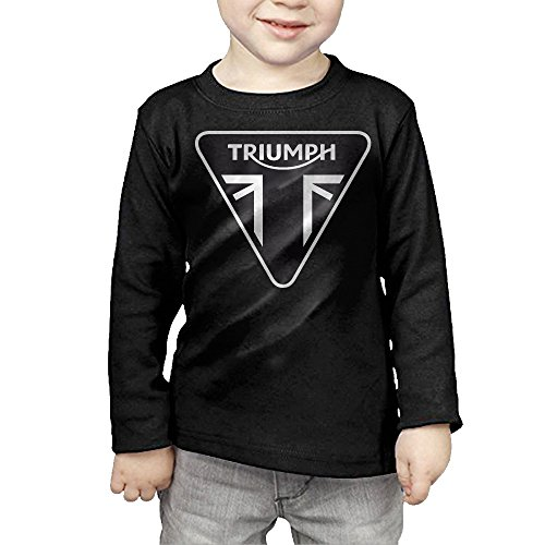 Triumph Motorcycle Logo Children's Pullover Long Sleeve T Shirt 2 Toddler (Pushing Cycle For Toddlers compare prices)
