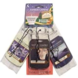 Yankee Candle Evening Stroll 3 Pk Car Jars Scented Candle