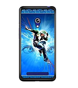 PrintDhaba Dance D-2524 Back Case Cover for ASUS ZENFONE 5 A501CG (Multi-Coloured)