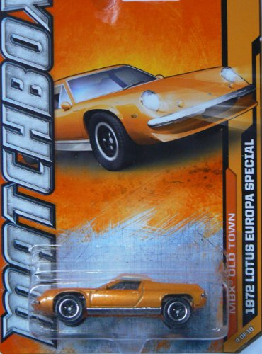 Matchbox MBX Old Town 1972 Lotus Europa Special 4/10 - 1