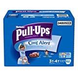 Pull-Ups Training Pants with Cool Alert for Boys, 62 Count