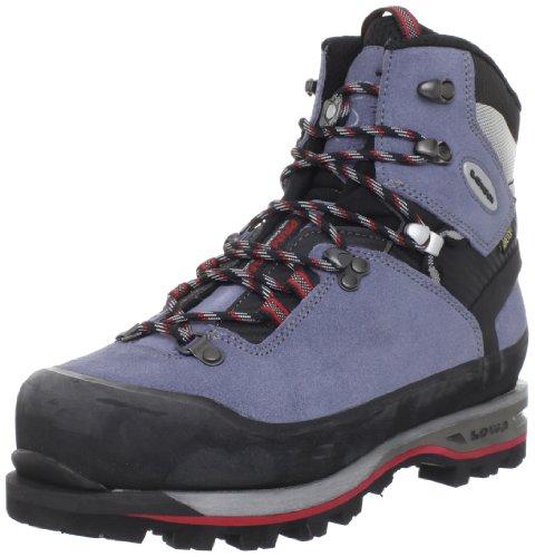 Lowa Mountain Expert GTX Trekking Boot,Grey/Blue/Black,6 M US