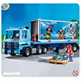 Playmobil 4401 dhl delivery truck toys games - Playmobil camion police ...