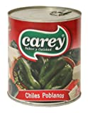 Poblano Peppers Whole Mexican Spicy Chile Gourmet Food Mexico Salsa Can Pepper Hot Mild Original Restaurant Grocery 5 mayo