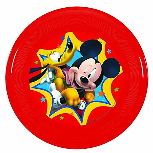"Amscan Mousekerific Disney Mickey Flying Disc (1 Piece), Red, 9"" - 1"