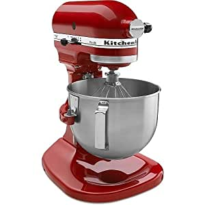 KitchenAid Pro 450 Series 4-1/2-Quart Stand Mixer, Empire Red