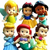Set of 6 Chunky Baby Toddler Princess 2