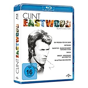 Clint Eastwood Collection [Blu-ray] [Import allemand]