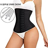 ALING Women Breathable Waist Tummy Training Shaper Corset Belt