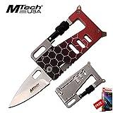Folding Wallet Knife Multi Tool 3.25