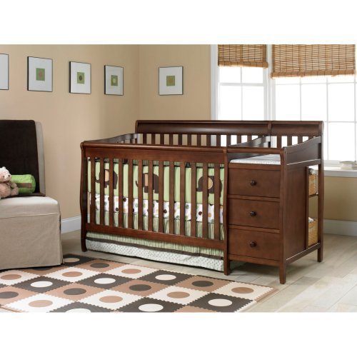 Cribs With Attached Changing Table