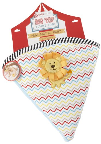 Baby Aspen Tummy Time Circus Playmat Gift Set, Big Top (Discontinued by Manufacturer)