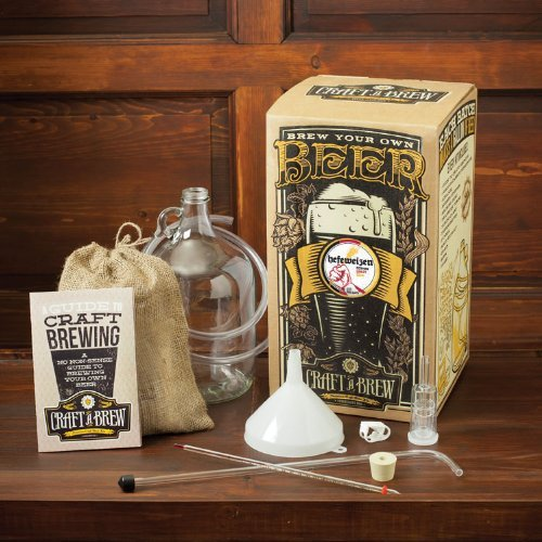 Craft Beer Brewing Starter Kit – Hefeweizen (Wheat Beer)