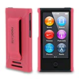 rooCASE Ultra Slim Translucent Matte (Pink) Shell Case for Apple iPod Nano 7 (7th Generation)