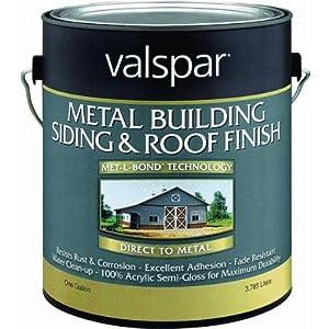 Valspar 27-4264 Metal Building Paint Sid/Roof
