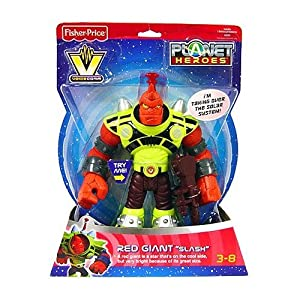 Fisher-Price Planet Heroes Voice Comm Red Giant