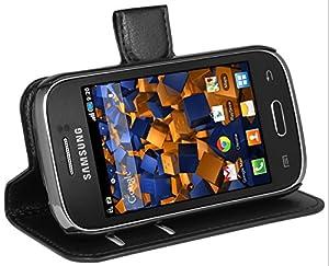 mumbi Tasche im Bookstyle für Samsung Galaxy Young S6310N / Galaxy Young DUOS S6312 Tasche