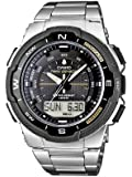 Casio Herren-Armbanduhr XL Collection Analog - Digital Quarz Edelstahl SGW-500HD-1BVER