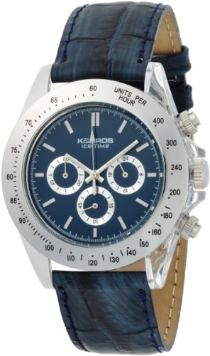 K&BROS Men's 9516-3 Ice-Time Chronograph Paul Watch