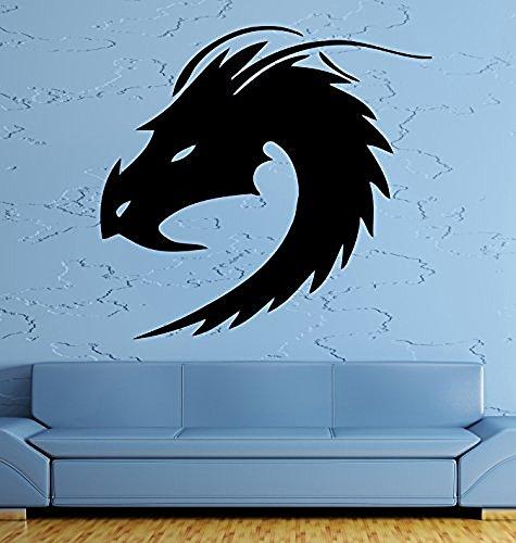 GGWW Wall Decal Dragon Myth Fantasy Monster Cool Decor For Living Room (Z2694)