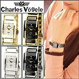 [シャルルホーゲル]Charles Vogele レディース 時計 (3)CV9066-2/シルバー×ホワイト [並行輸入品]