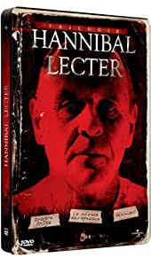 Hannibal Lecter - La trilogie : Le silence des agneaux + Hannibal + Dragon Rouge [Pack Collector boîtier SteelBook]