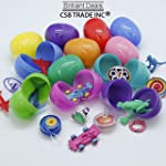36 Toy Filled Easter Eggs, Eggs Measu...
