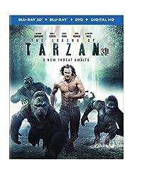 The Legend of Tarzan (Blu-ray 3D + Blu-ray + DVD + Digital HD + UltraViolet Combo Pack)