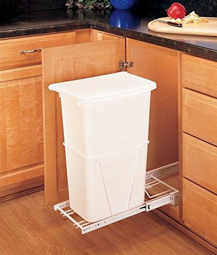Rev-A-Shelf - RV-12PB-50 - 50 Quart Pullout Waste Container