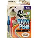 Espree Bark Art Blow Pen Dye for Pets, 12-Pack