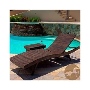 Amazon Com Sun Chair Patio And Lawn Lounge Chair