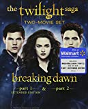 The Twilight Saga: Breaking Dawn, Parts 1 & 2 (Extended Edition) (Blu-ray + Digital Copy + Ultraviolet)